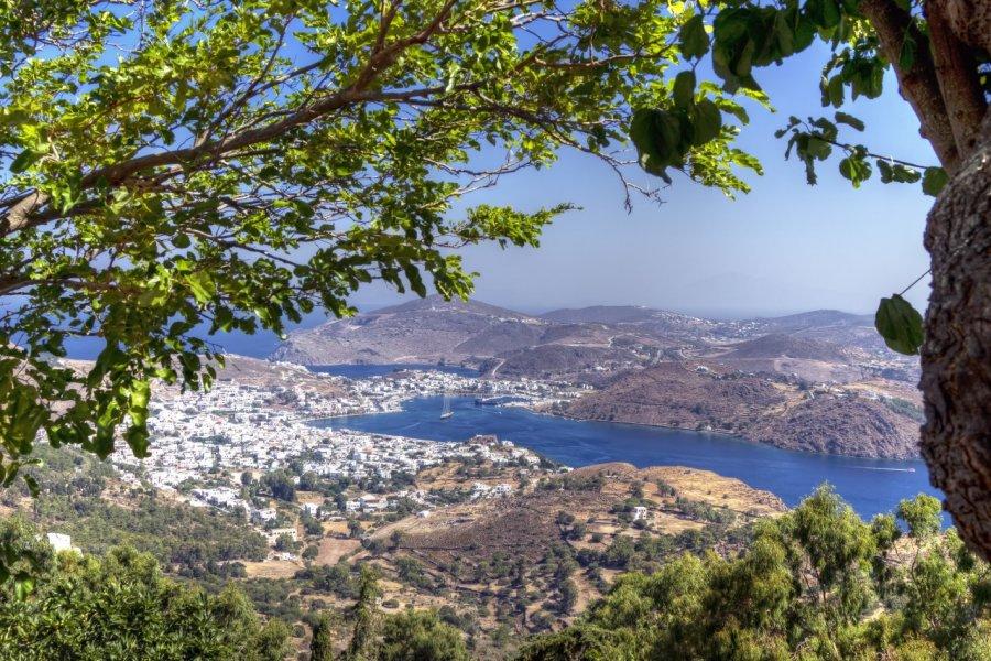 Le port de Skala sur l'île de Patmos. (© AJancso - Shutterstock.com))