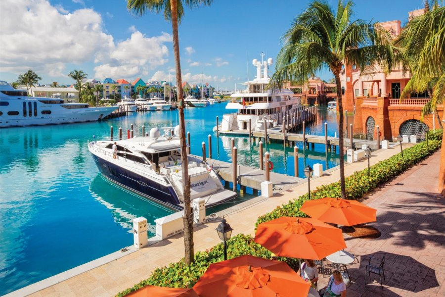 La marina de l'Atlantis Resort. (© Pietro Canali))