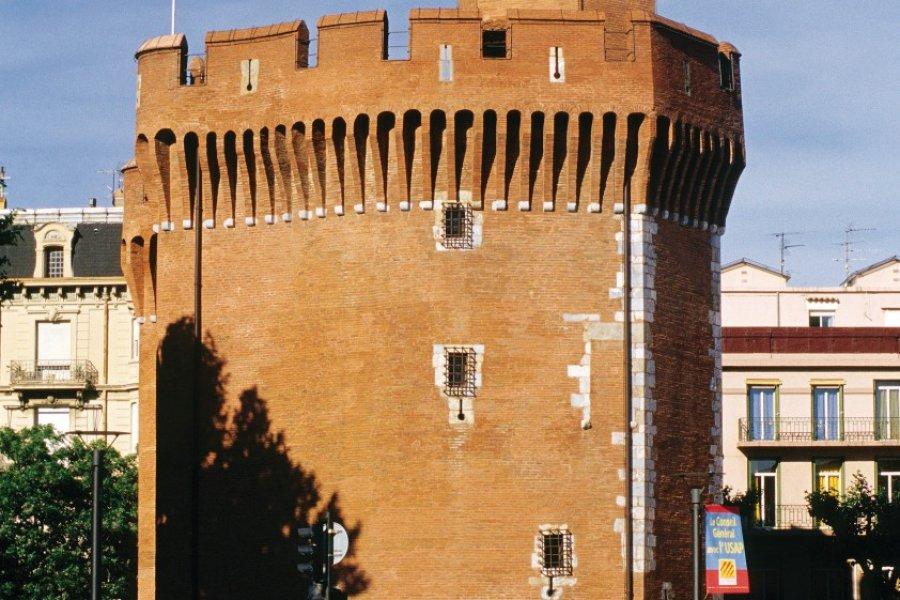 Le Castillet, une des portes de la ville de Perpignan (© Nicolas Rung - Author's Image))