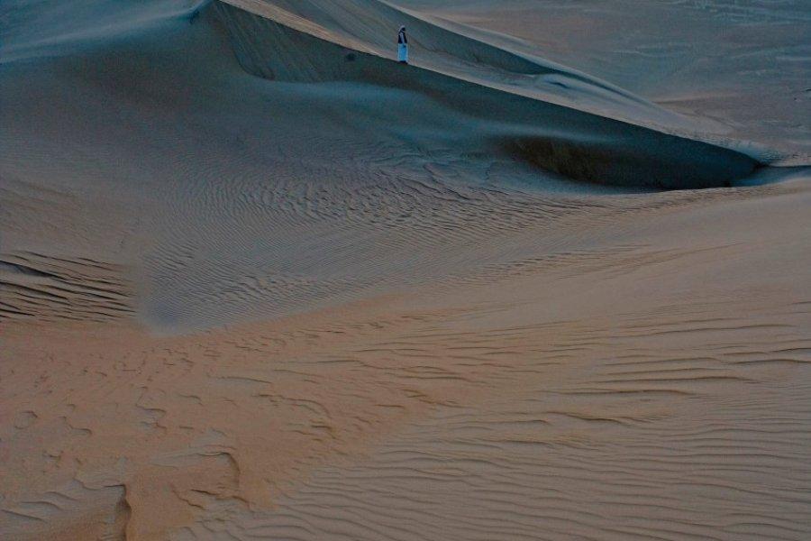 Lever de soleil sur les dunes de la grande mer de sable. (© Sylvain GRANDADAM))