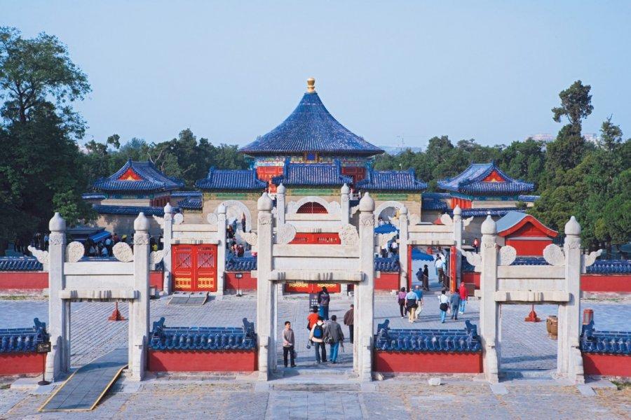 Temple du Ciel (Tiantan) - La Voûte céleste impériale (Huangqingyu). (© Author's Image))