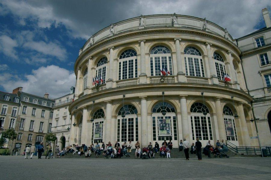 L'Opéra de Rennes. (© Stéphan SZEREMETA))
