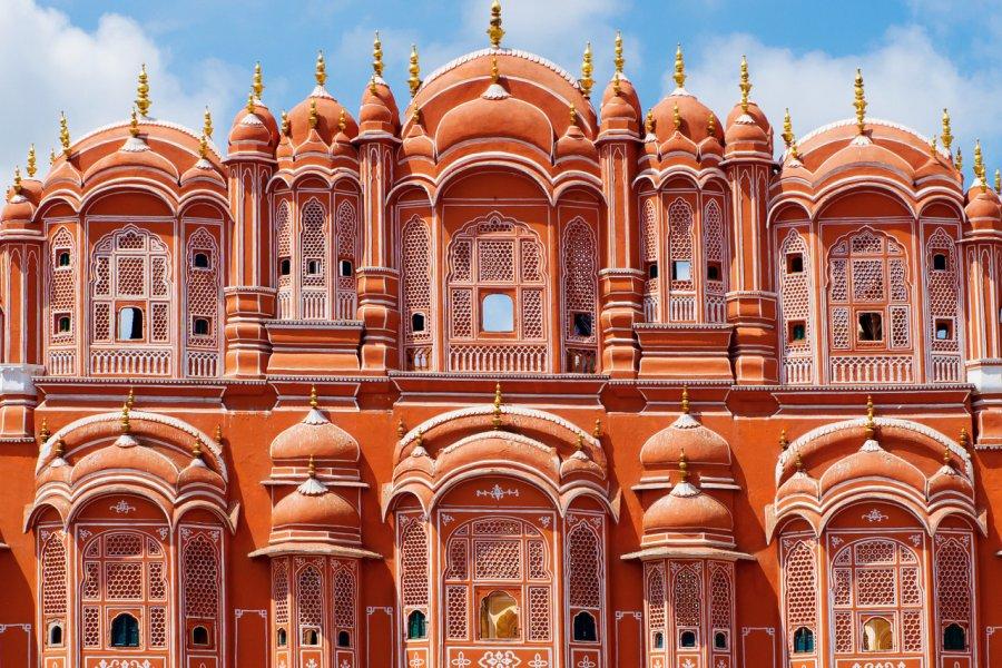 Hawa Mahal à Jaipur. (© Byelikova Oksana - Shutterstock.com))