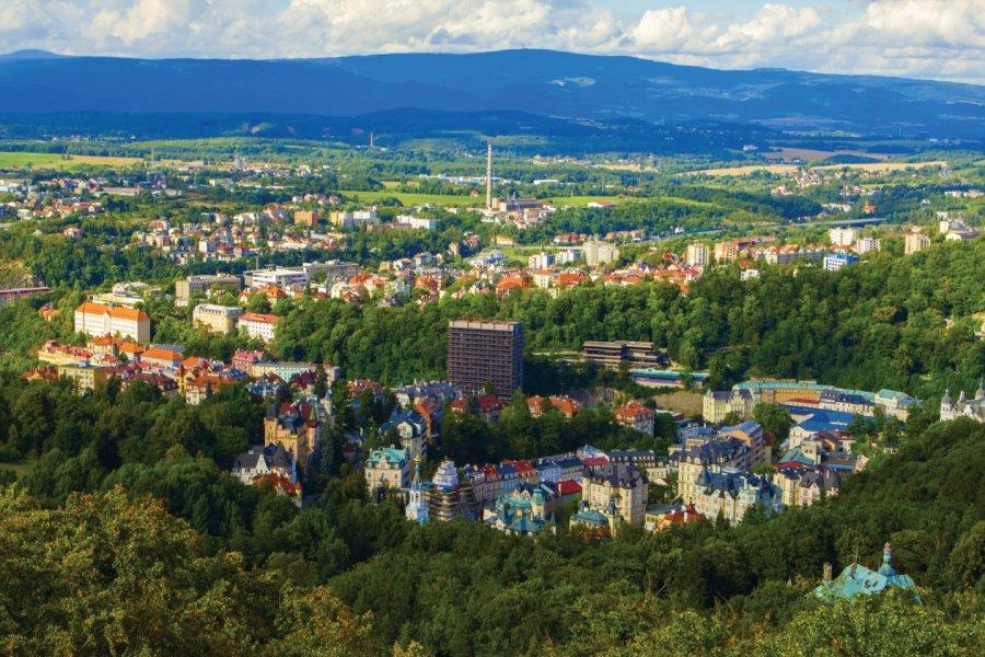 Panorama de la ville de Karlovy Vary. (© Letty17 - iStockphoto))
