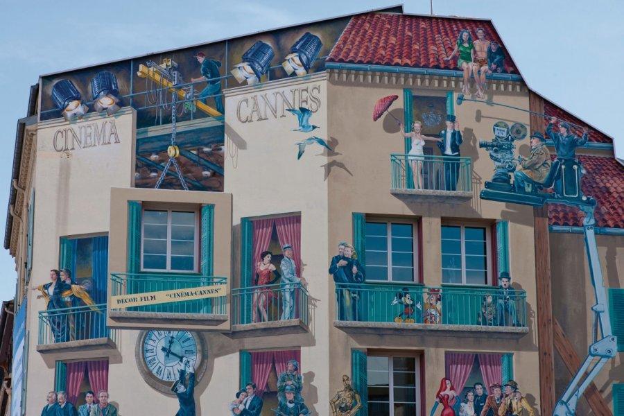 Peinture murale de A. Fresco (© Lawrence Banahan - Author's Image))