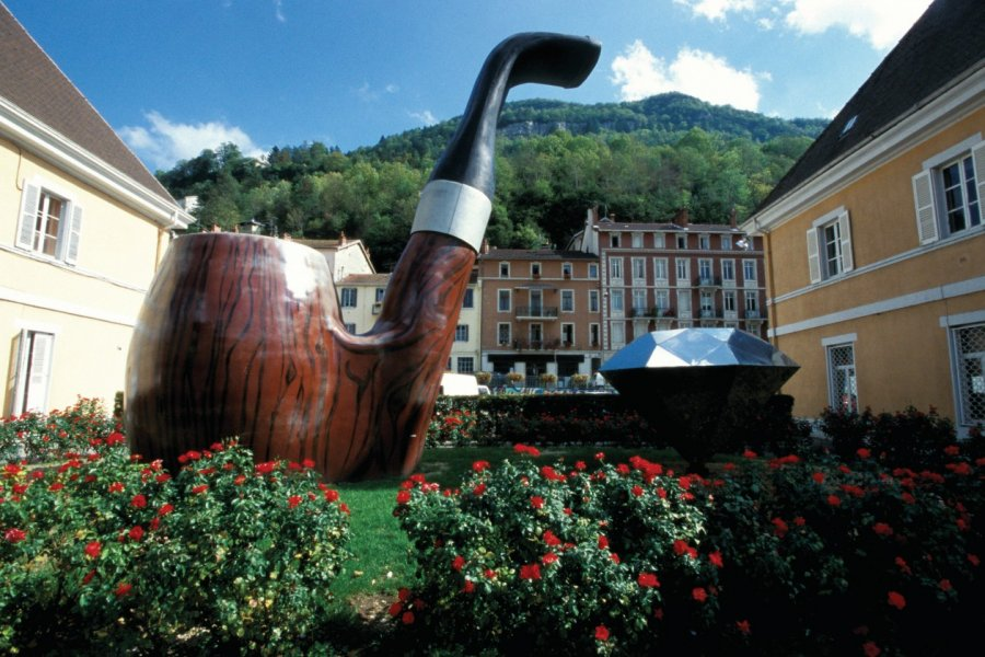 Saint Claude est la capitale de la pipe. (© Tom Pepeira))
