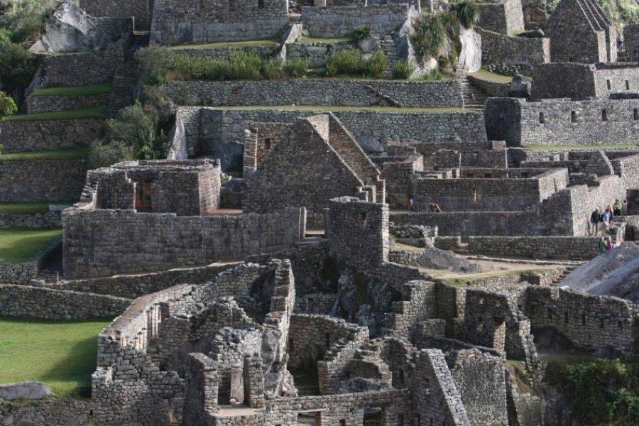 Vue générale du site de Machu Picchu. (© Stéphan SZEREMETA))