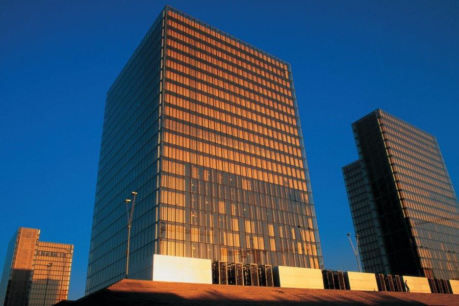 Bibliothèque Nationale de France - Site François Mitterrand (© BDLM - Iconotec))
