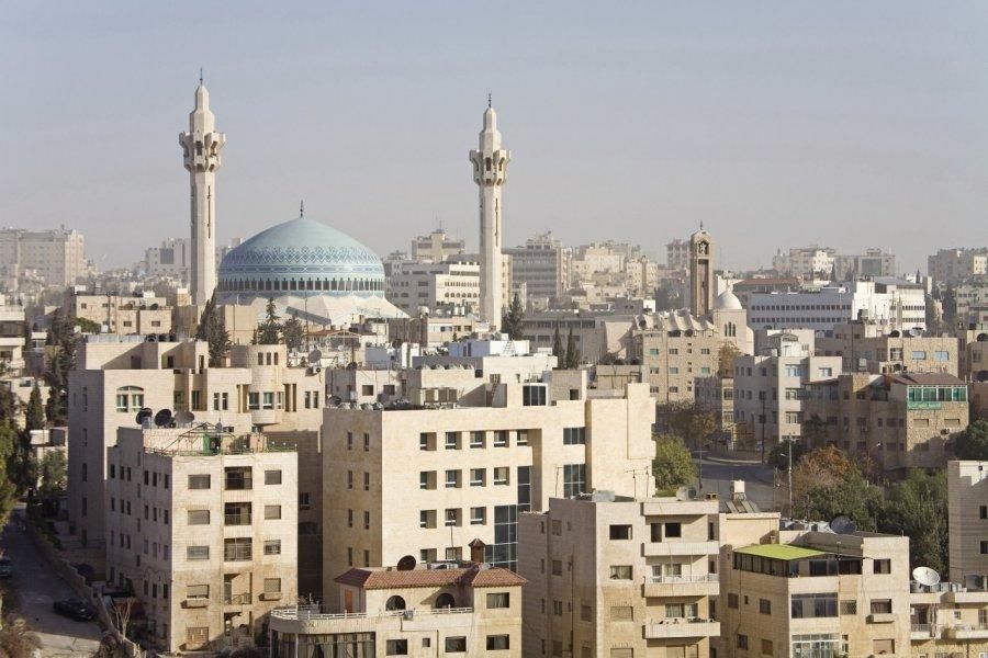 Mosquée du roi Abdallah Ier. (© Tom Pepeira - Iconotec))