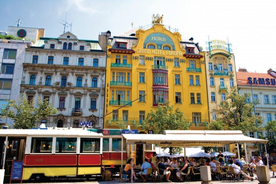 La place Venceslas (Václavské Náměstí). (© Author's Image))