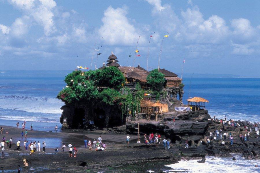 Pura Tanah Loth est un des temples les plus visités de Bali. (© Author's Image))