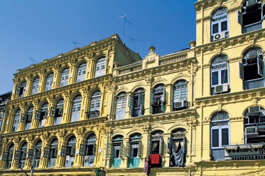 Centre-ville de Yangon. (© Alamer - Iconotec))