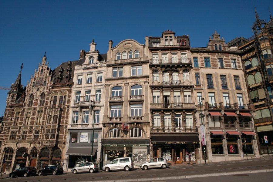 Rue Montagne de la Cour. (© Author's Image))