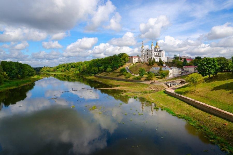 Église de la Résurrection sur les rives de la Daugava, Vitebsk. (© Olga355))
