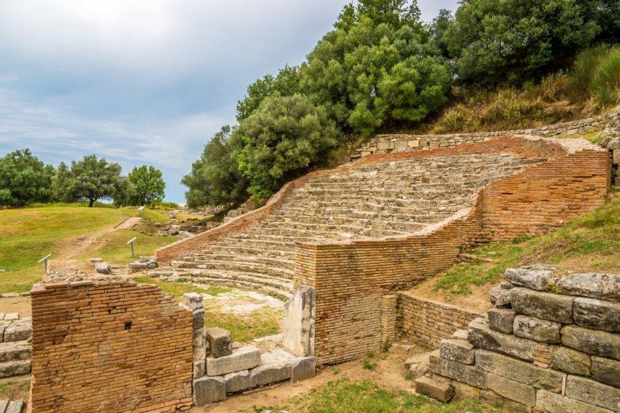 Ancient théâtre romain près de Dürres. (© milosk50 - Shutterstock.com))