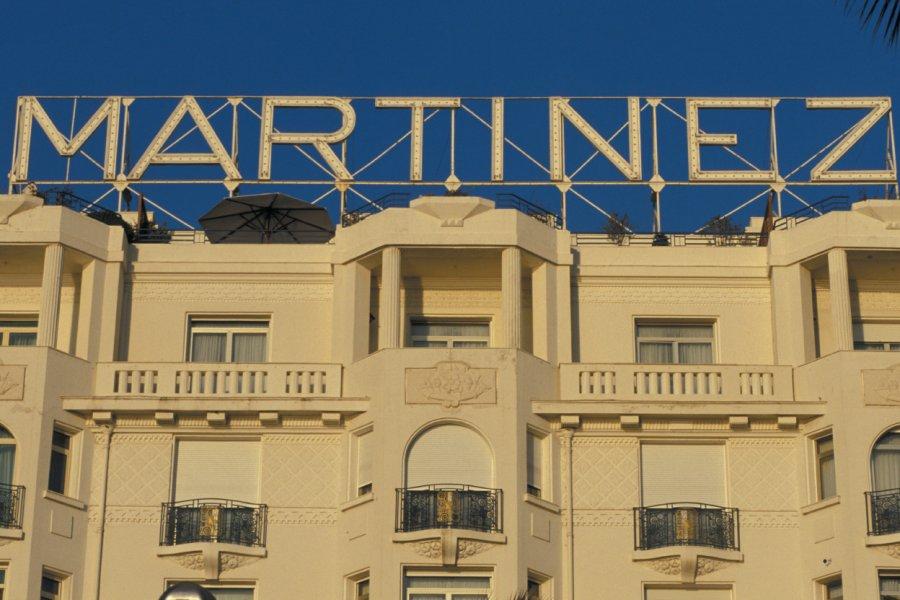 Le célèbre hôtel Martinez - Cannes (© TOM PEPEIRA - ICONOTEC.COM))