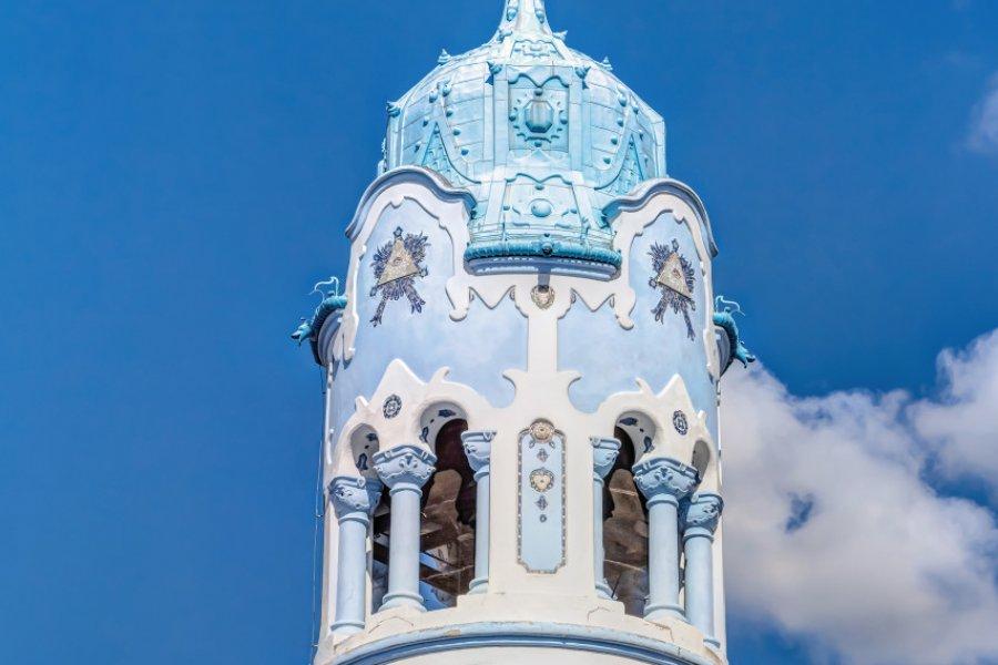 Eglise bleue Sainte-Elisabeth de Bratislava. (© mije_shots))