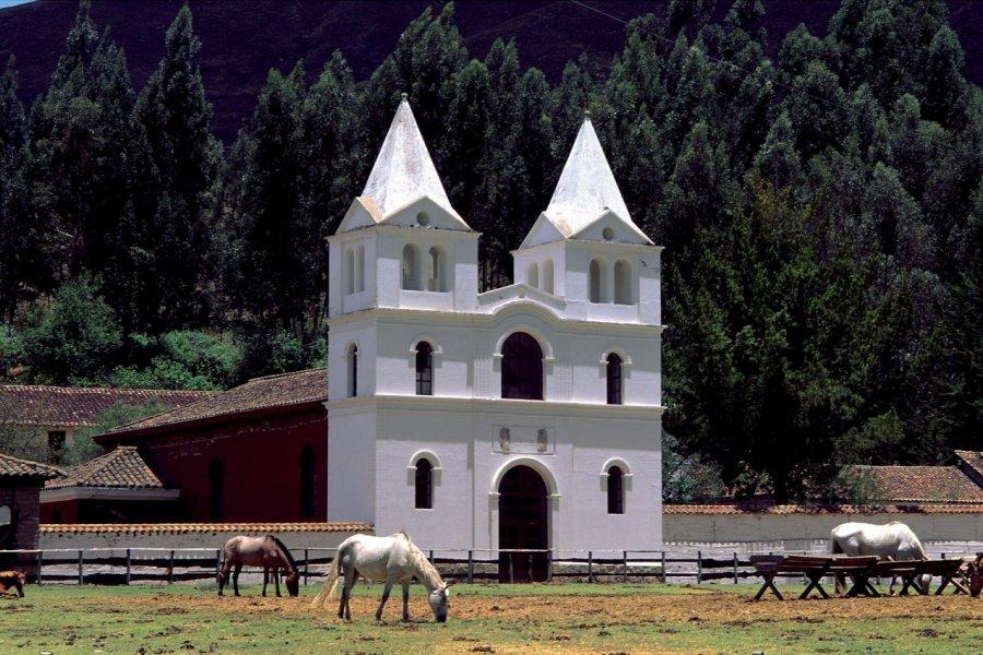 Corral de l'Hosteria Guachala. (© Author's Image))