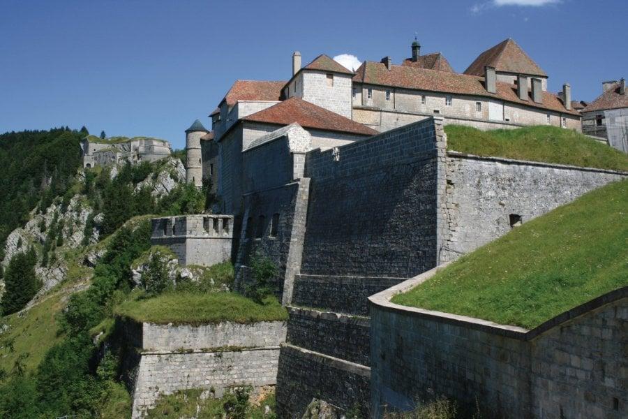 Le château de Joux (© Phil - Fotolia))