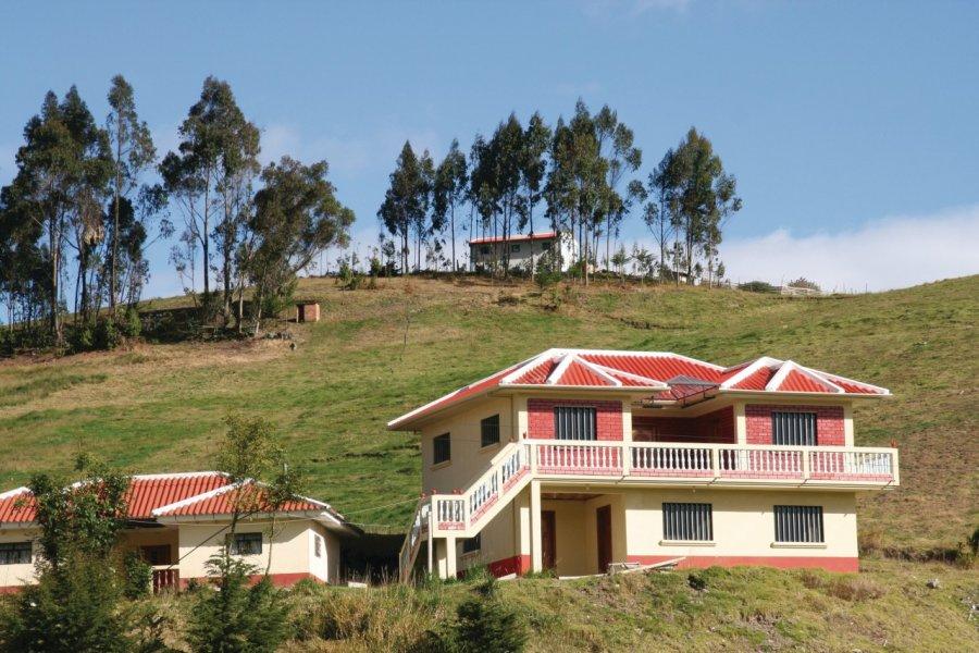 Confortable maison d'expatrié équatorien. (© Stéphan SZEREMETA))