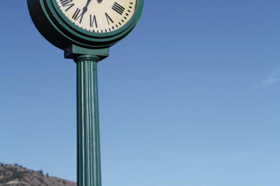 Osoyoos, porte d'entrée de la vallée de l'Okanagan, à la frontière des Etats-Unis. (© Stéphan SZEREMETA))