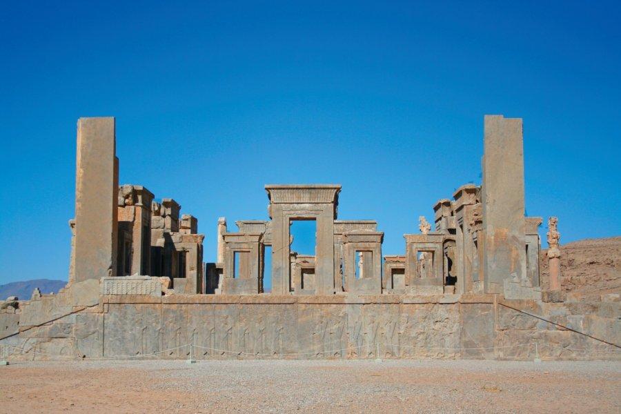 Ruines de Persépolis. (© Petra KohlstÑdt))