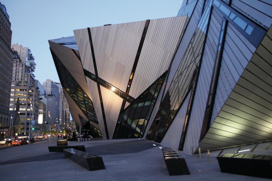Le ROM, Royal Ontario Museum. (© Stéphan SZEREMETA))
