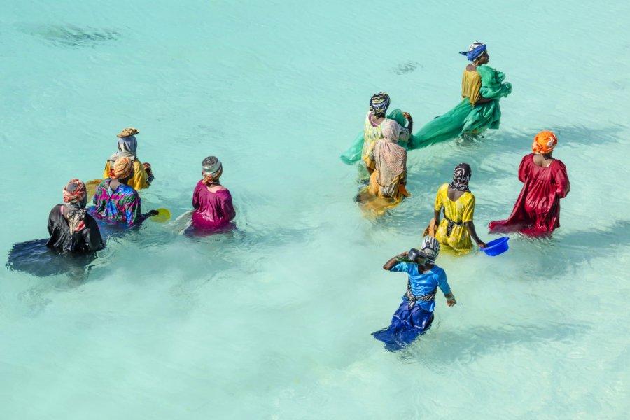 Femmes partant à la pêche. (© laranik - Shutterstock.com))