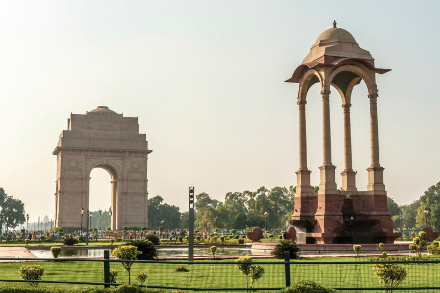 India Gate, New Delhi. (© Sihasakprachum - iStockphoto))