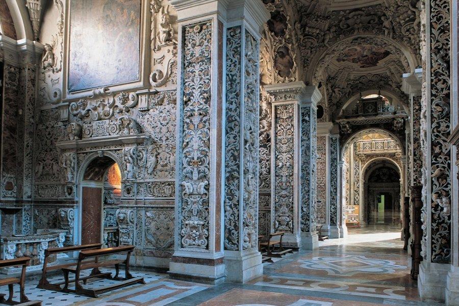 Intérieur de Chiesa del Gesu. (© Apollon - Iconotec))