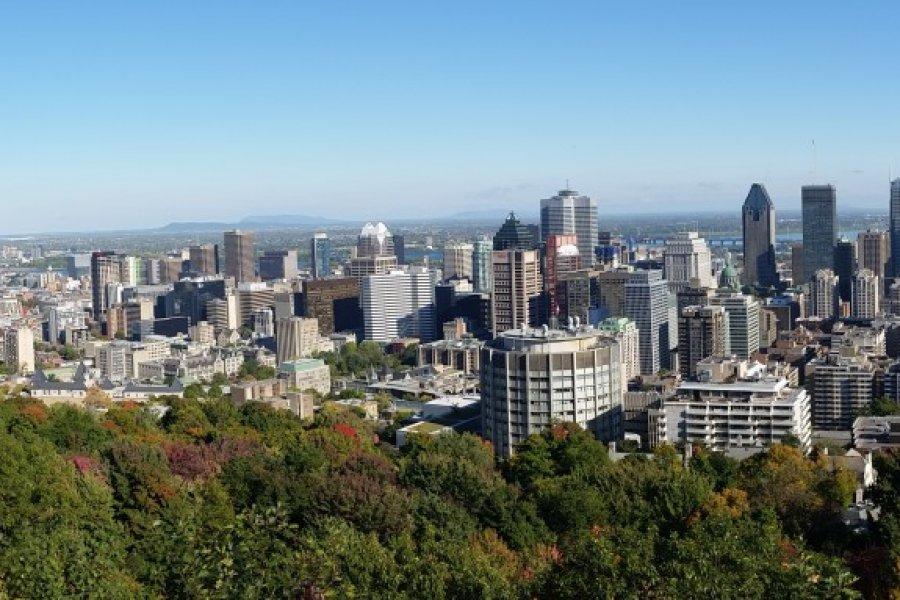 Panorama de la ville de Montréal. (© Michelle MAYER))