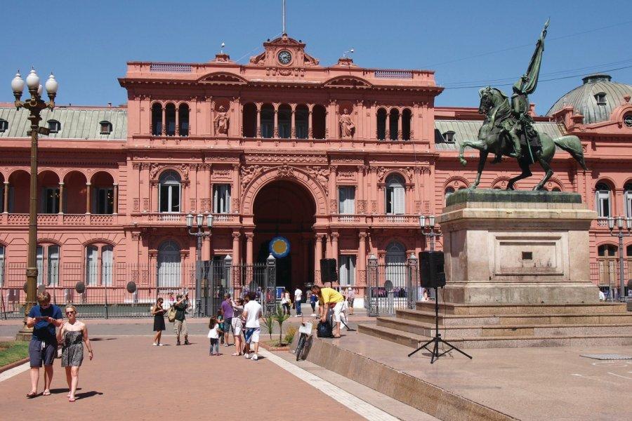 Casa Rosada, palais présidentiel. (© Maxime DRAY))