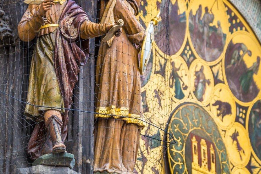 Détail de l'horloge astronomique de Prague. (© Curioso - Shutterstock.com))