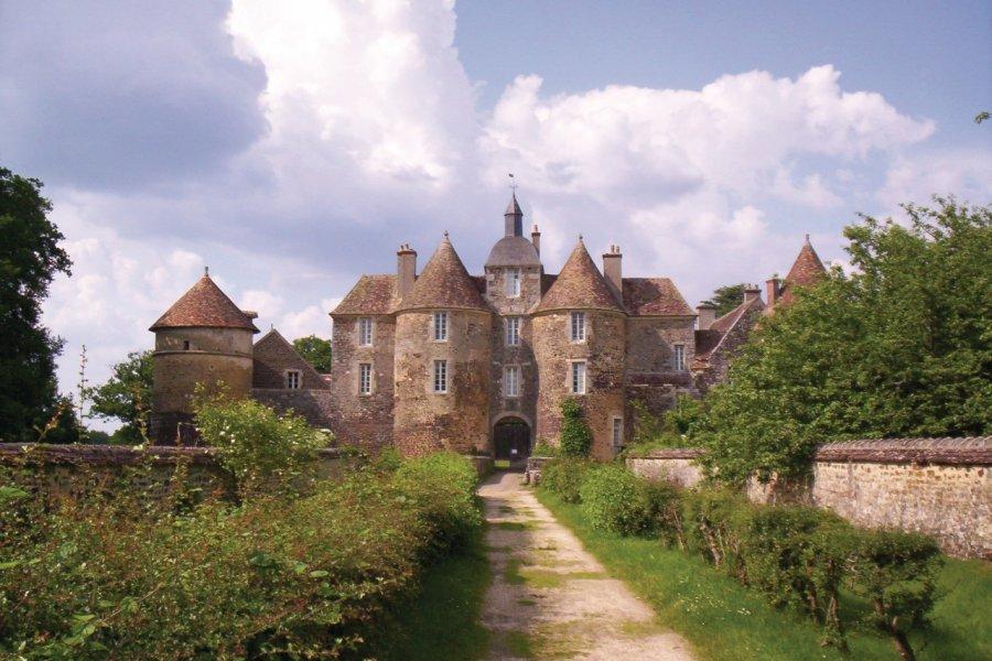 Le château de Ratilly (© Josiane Maxel))