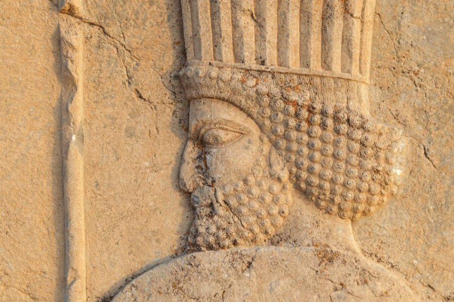 Bas-relief représentant un guerrier perse. (© Massimo Pizzotti))