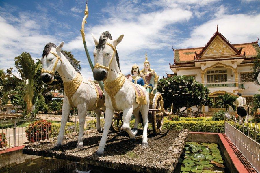 Temple de Battambang. (© Imagesef - Fotolia))