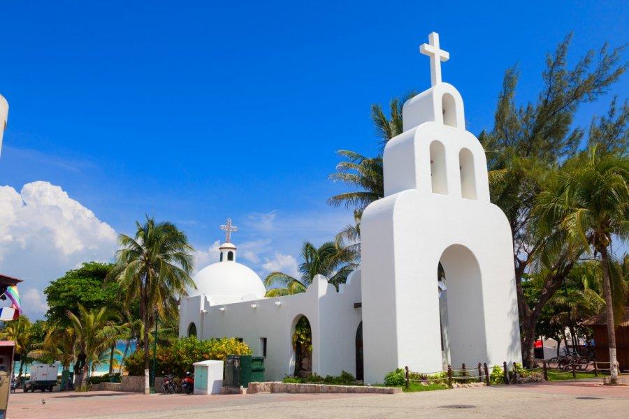 Eglise de Playa del Carmen. (© Jose Ignacio Soto - Shutterstock.com))