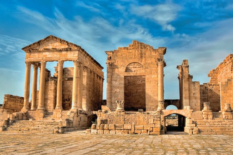 Ruines romaines de Sbeïtla. (© Eleaner - iStockphoto))