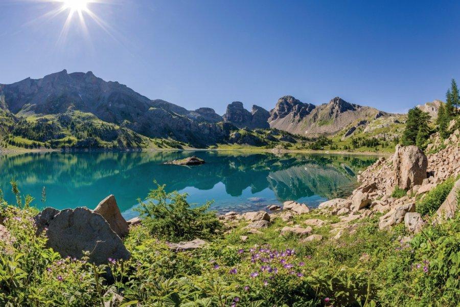 Lac d'Allos. (© Office de tourisme du Val d'Allos R Palomba))