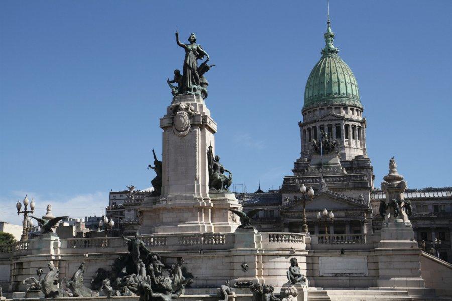 Congreso de la Nación Argentina (© Stéphan SZEREMETA))