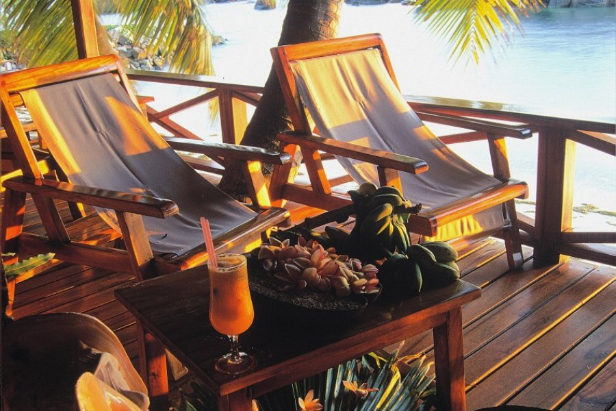 Les villas avec terrasses sur plage... le paradis! (© Ripani Massimo))
