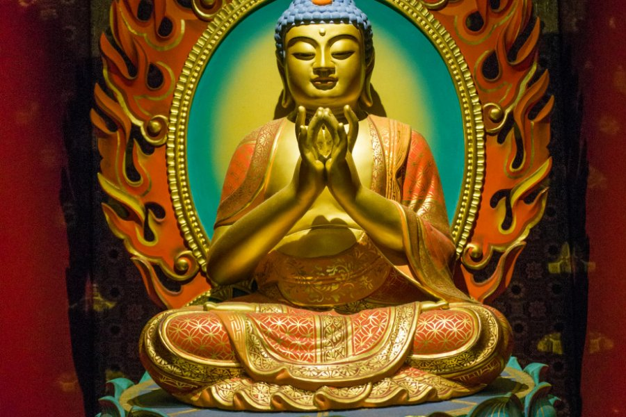Buddha Tooth Relic Temple. (© BoyCatalyst - Shutterstock.com))