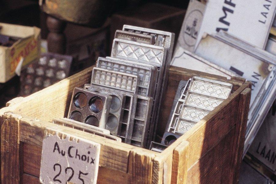 Marché aux antiquités du samedi, Grand Sablon. (© Henri Conodul - Iconotec))