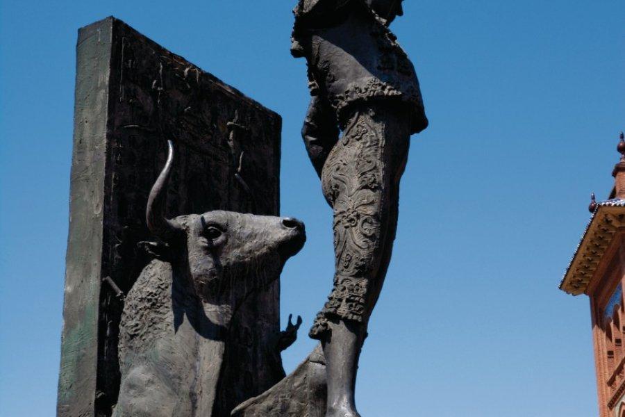Les arènes de la Plaza de Toros de Las Ventas. (© Philippe GUERSAN - Author's Image))
