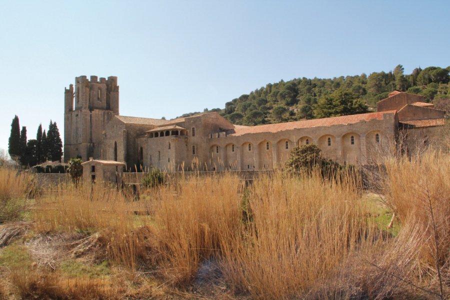 L'abbaye de Lagrasse (© Yan Even))