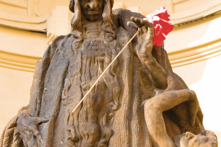 Statue de Rabbi Löw (père du Golem). (© Author's Image))