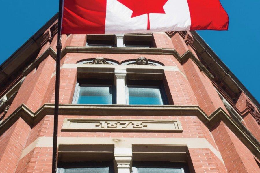 Façade emblématique d'un bâtiment de Saint John. (© Tourisme Nouveau-Brunswick))