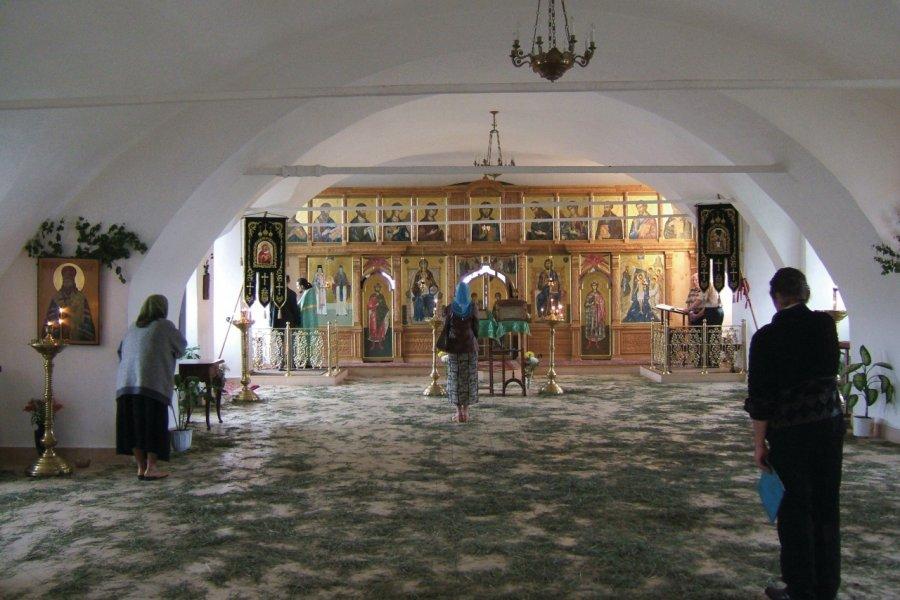 Intérieur de la cathédrale Hodigitria (© Stéphan SZEREMETA))