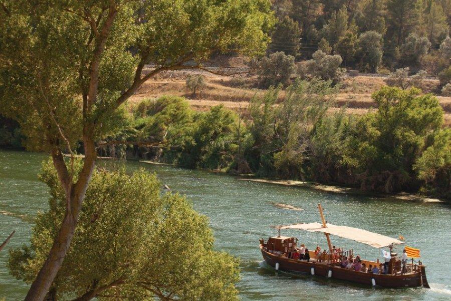Le llaüt, une réplique moderne des embarcations traditionnelles. (© Patronat Turisme Diputació Tarragona - Terres de l'Ebre))