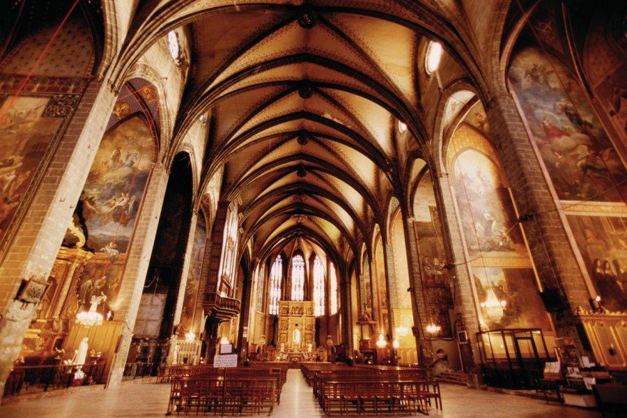 Nef de la cathédrale Saint-Jean-Baptiste de Perpignan (© VINCENT FORMICA))